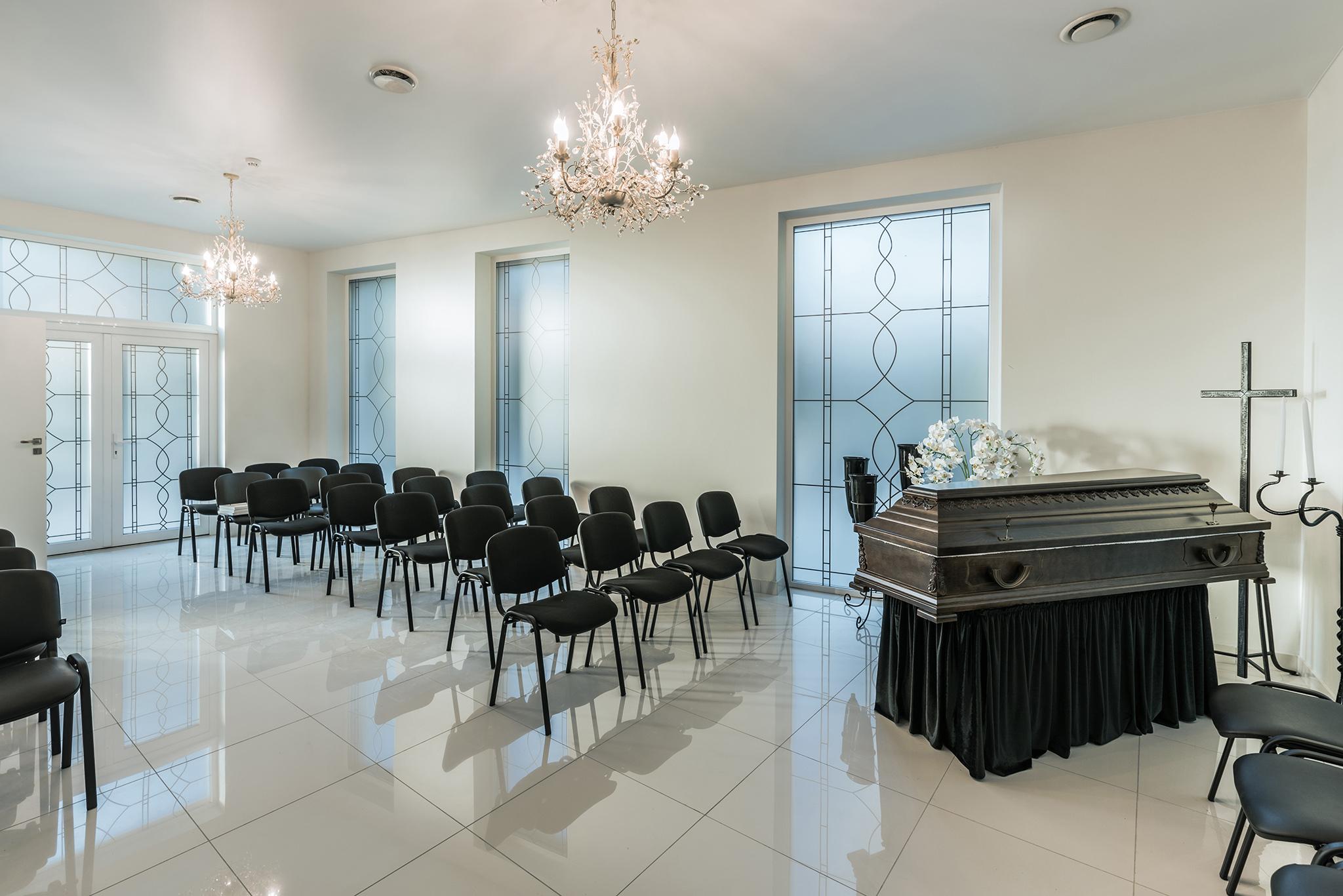šarvojimo salės Vilniaus laidojimo namai